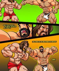 Hercules - Battle Of Strong Man 3 010 and Gay furries comics