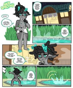 Hot Spring 001 and Gay furries comics