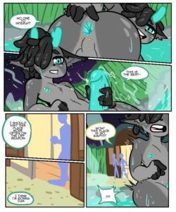 Hot Spring 003 and Gay furries comics