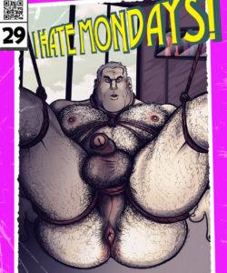 I Hate Mondays! 001 and Gay furries comics