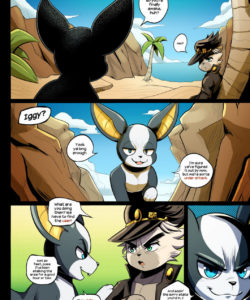 Iggy's Otherworldly Revenge 002 and Gay furries comics