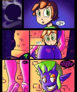Inky Night gay furry comic