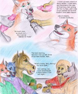Jack's Dream 012 and Gay furries comics