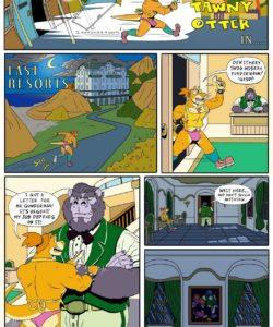 Last Resorts 003 and Gay furries comics