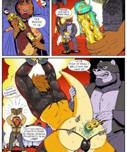 Last Resorts 008 and Gay furries comics