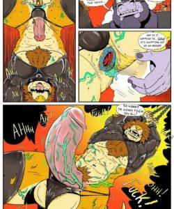Last Resorts 009 and Gay furries comics