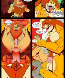 Last Resorts 013 and Gay furries comics