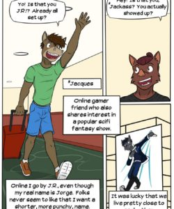 Lead Actor 004 and Gay furries comics