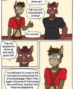 Lead Actor 023 and Gay furries comics