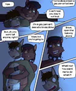 Lead Actor 048 and Gay furries comics