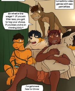 Lead Actor 051 and Gay furries comics
