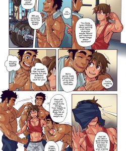 Lick The Plate 002 and Gay furries comics
