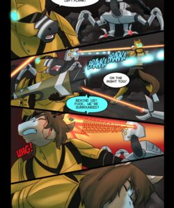 Love And War gay furry comic