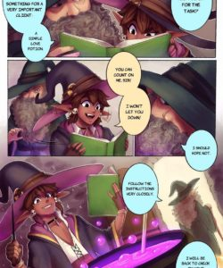 Love Potion 003 and Gay furries comics