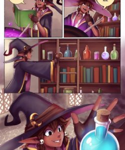 Love Potion gay furry comic