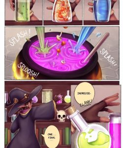 Love Potion 005 and Gay furries comics