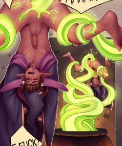 Love Potion 014 and Gay furries comics