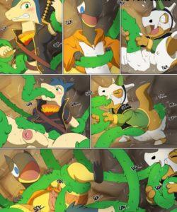 Magic Failure 004 and Gay furries comics