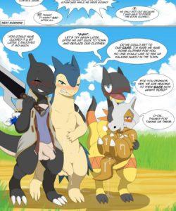 Magic Failure 010 and Gay furries comics