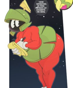 Marvin The Martian gay furry comic