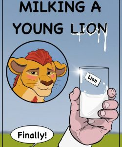 Milking A Young Lion 001 and Gay furries comics