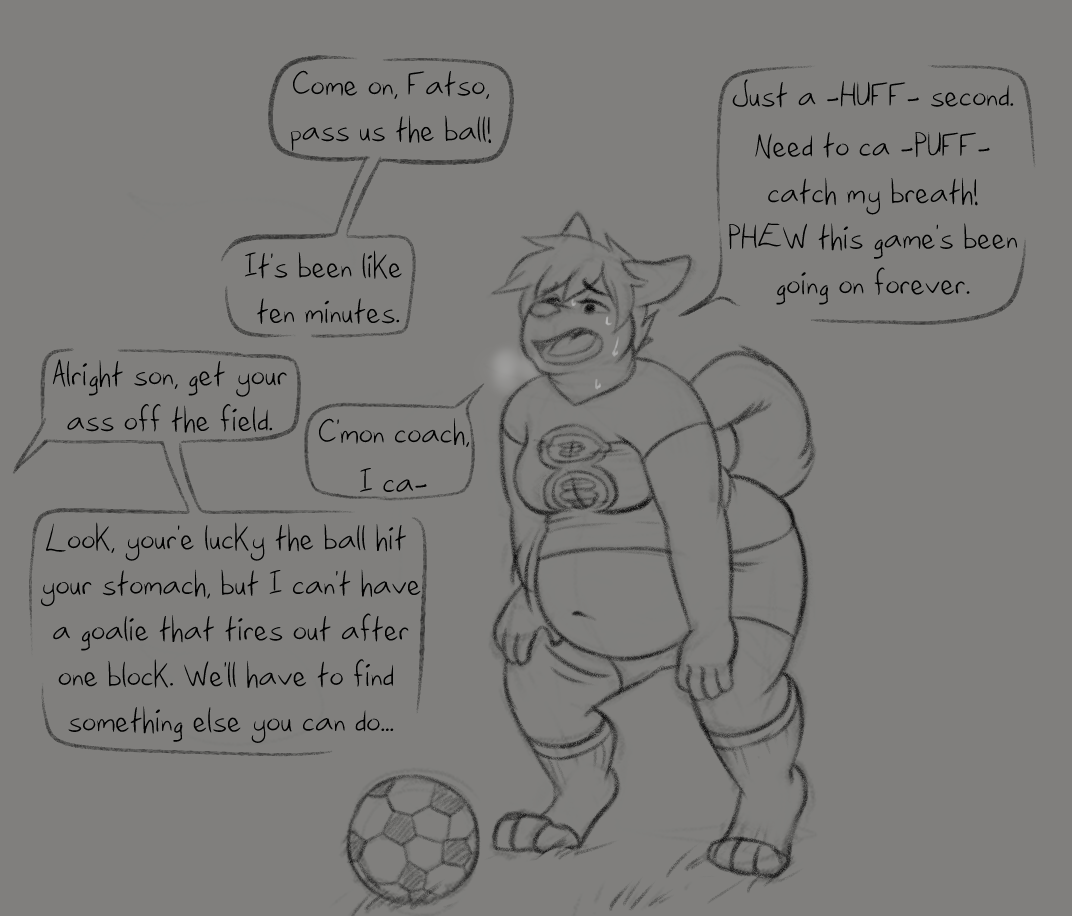 Most Voluptuous Player gay furry comic