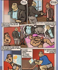 My Boss gay furry comic