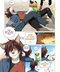 No Pain No Gain 003 and Gay furries comics