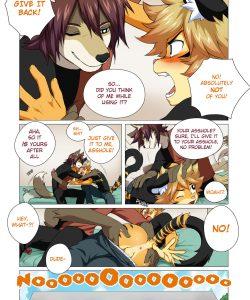 No Pain No Gain 006 and Gay furries comics