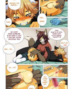 No Pain No Gain 007 and Gay furries comics