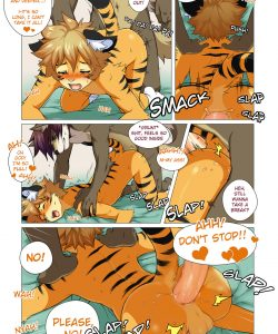 No Pain No Gain 014 and Gay furries comics