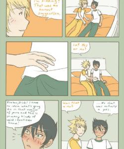 On A Friendly Basis gay furry comic