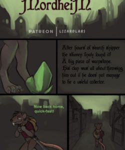 Once Upon A Time In Mordheim gay furry comic