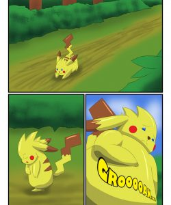 Pikachu Muscle Evolution 001 and Gay furries comics