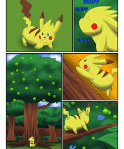 Pikachu Muscle Evolution 002 and Gay furries comics