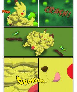Pikachu Muscle Evolution gay furry comic