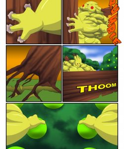 Pikachu Muscle Evolution 005 and Gay furries comics