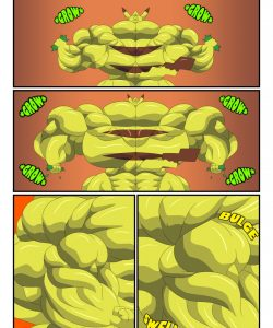 Pikachu Muscle Evolution 007 and Gay furries comics