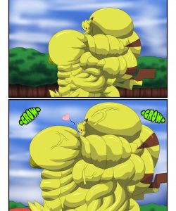 Pikachu Muscle Evolution 009 and Gay furries comics
