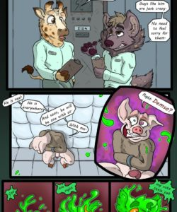 Room 204 gay furry comic