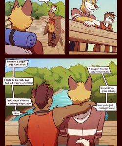 RudderButt Lake 004 and Gay furries comics