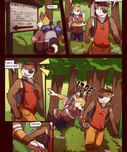 RudderButt Lake 005 and Gay furries comics