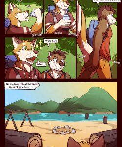 RudderButt Lake 006 and Gay furries comics