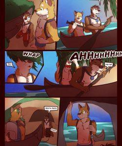RudderButt Lake 014 and Gay furries comics