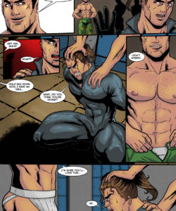 Sam Rodriguez's Adventure In A Lockeroom gay furry comic