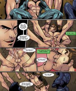 Sam Rodriguez's Adventure In A Lockeroom 005 and Gay furries comics