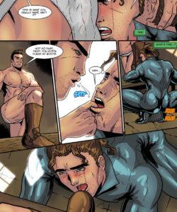Sam Rodriguez's Adventure In A Lockeroom 013 and Gay furries comics