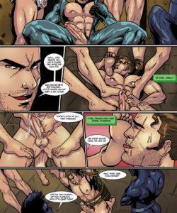 Sam Rodriguez's Adventure In A Lockeroom 015 and Gay furries comics