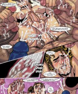 Sam Rodriguez's Adventure In A Lockeroom 020 and Gay furries comics