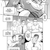 Santa Came Last Night gay furry comic